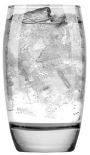 16 oz Cooler Glass (Realty Pattern)